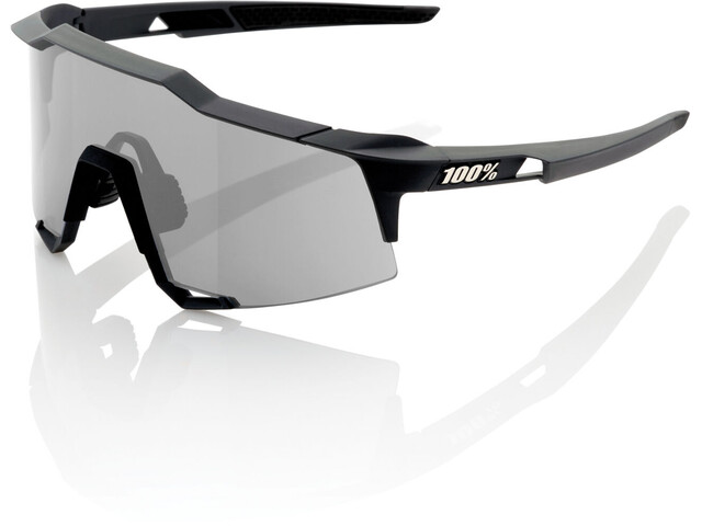 100% Speedcraft Okulary rowerowe Tall czarny